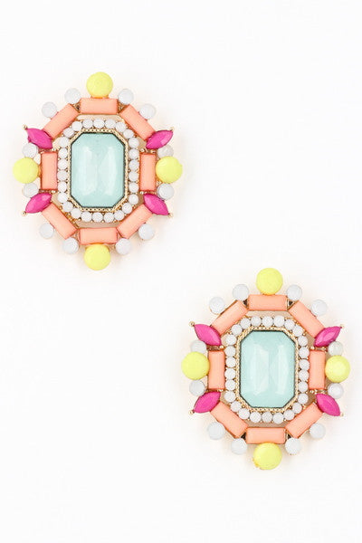 Time To Shine Stud Earring