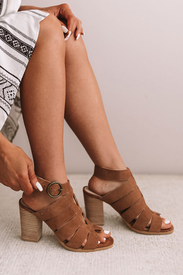 Completely Engaged Suede Heel