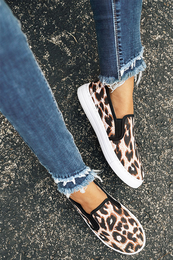 The Carley Slip On In Leopard