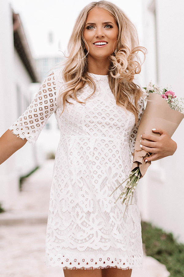 Delicate Dream Lace Dress