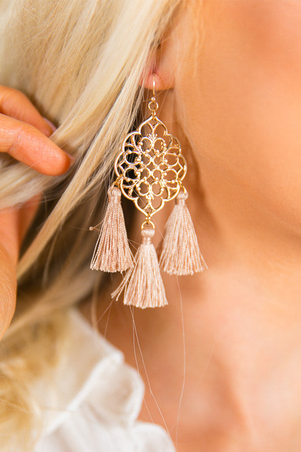 Chic State Of Mind Tassel Earrings
