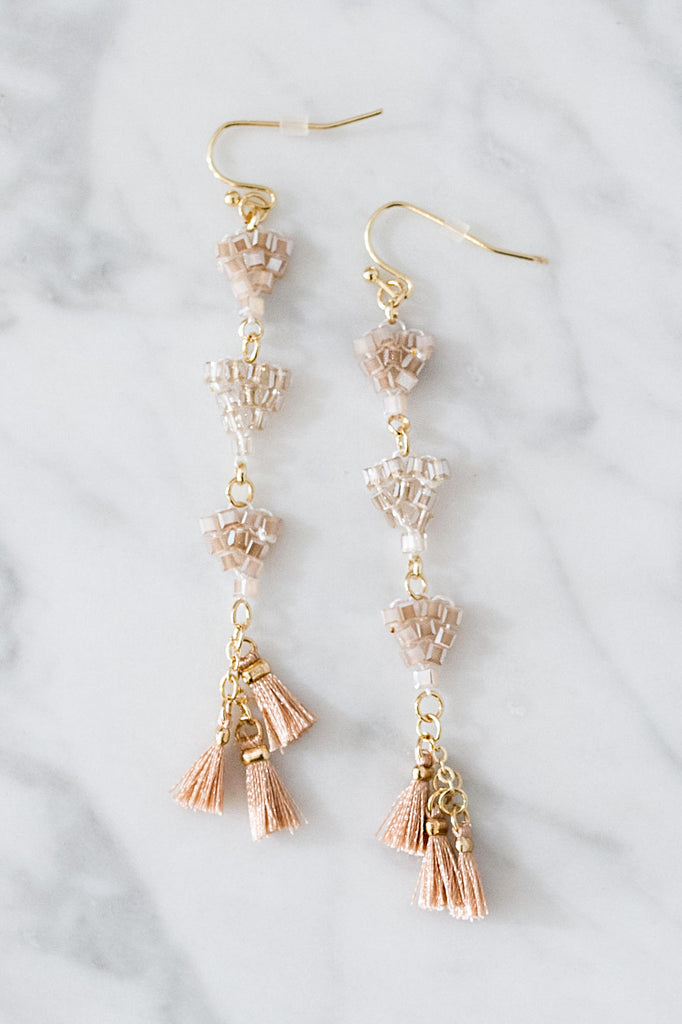 Brighton Bliss Tassel Earrings