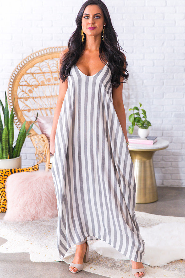 Total Babe Stripe Maxi