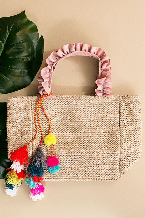 Party In Paradise Bag In Blush