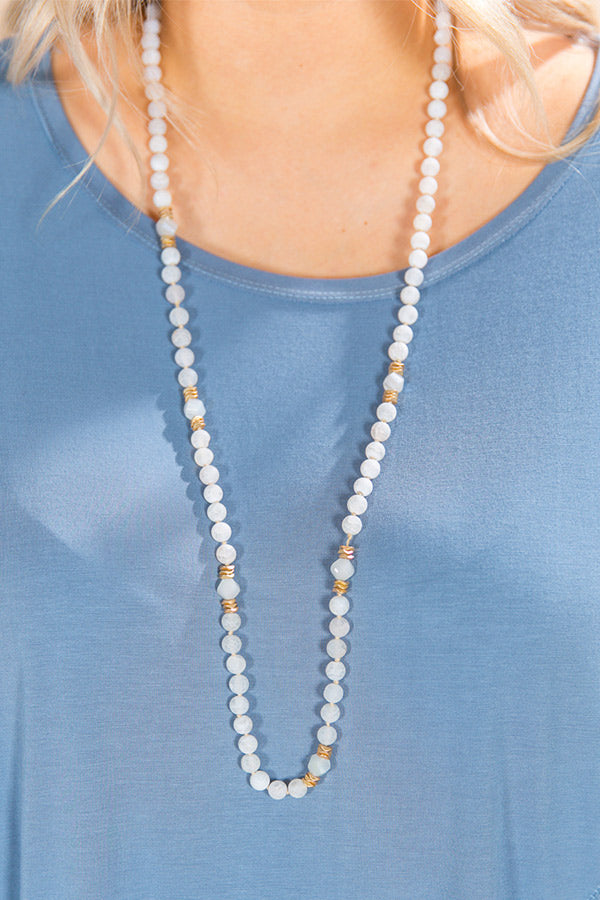 Summertime Bliss Semi Precious Stone Necklace