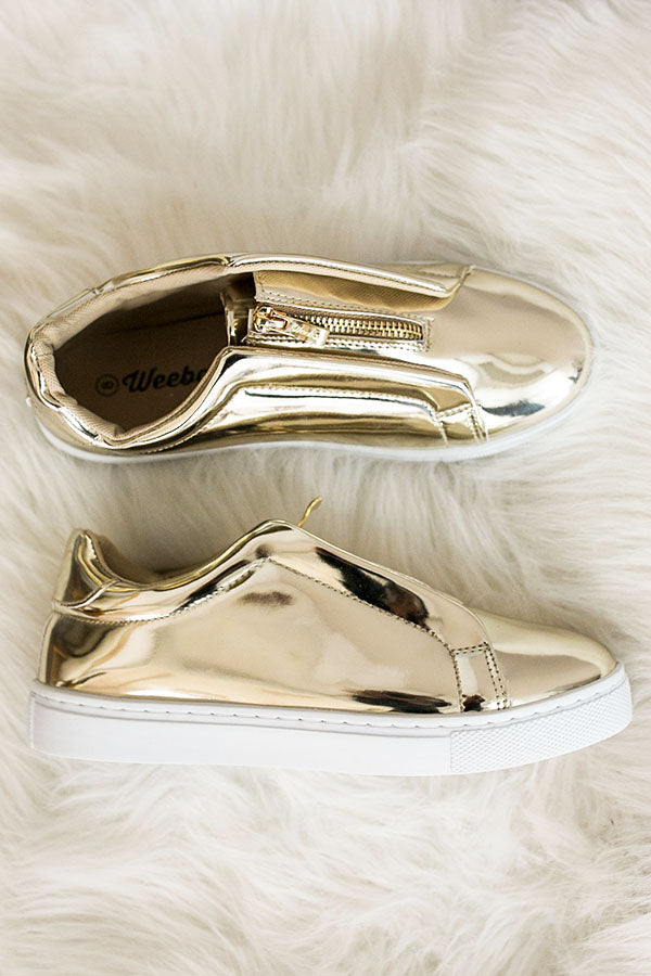 The Juniper Metallic Sneaker