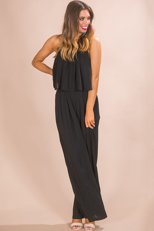 288be010a02 The Fashion Week Jumpsuit in Black