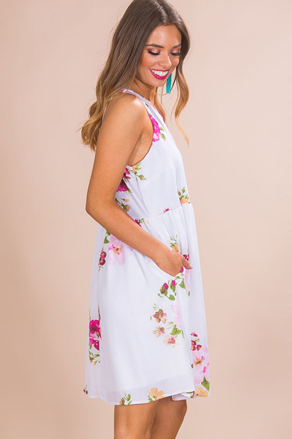 Floral Party Babydoll Dress