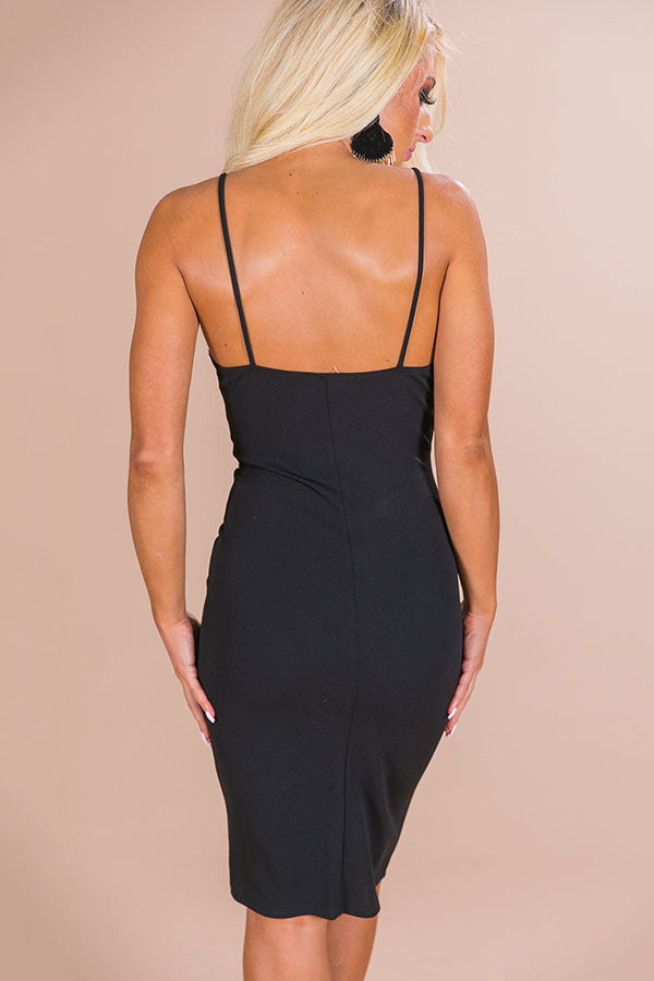 On The Move Dress in Black