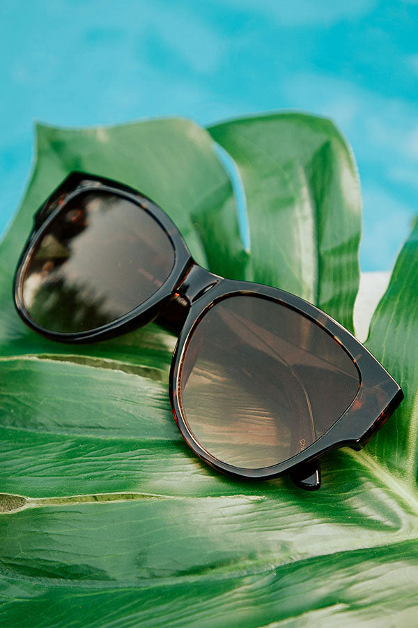 Cali Coastline Sunnies in Tortoiseshell