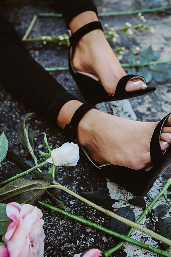 The Tinsley Wedge in Black
