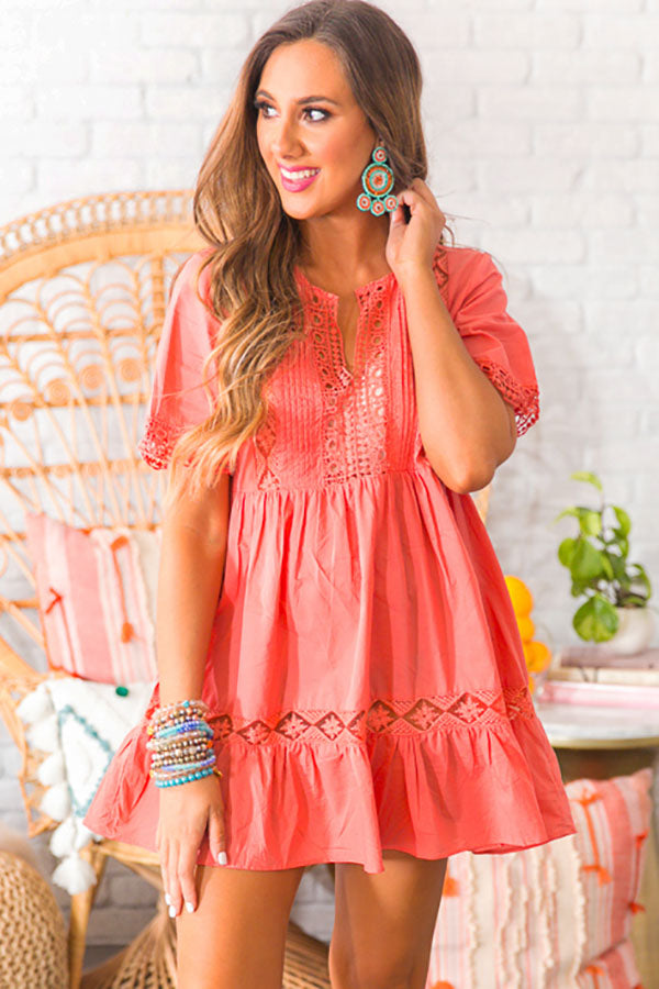 Calls For Margs Tunic In Coral