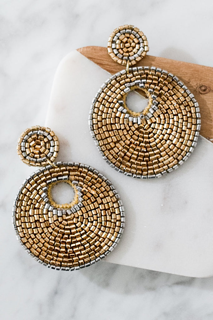 Summer Divine Earrings In Gold