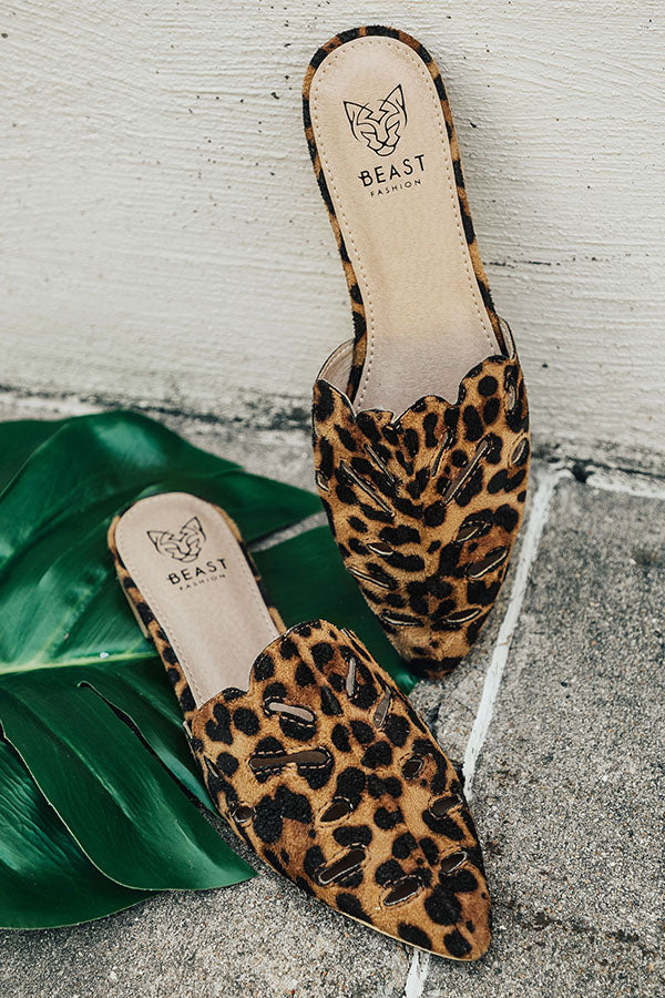 The Paige Flat In Leopard