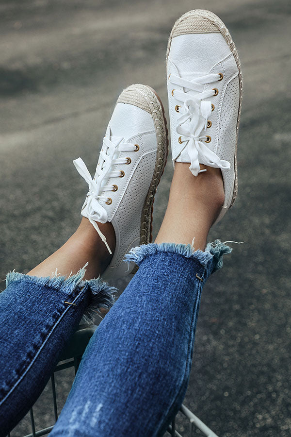 Seaside Sneaker in White
