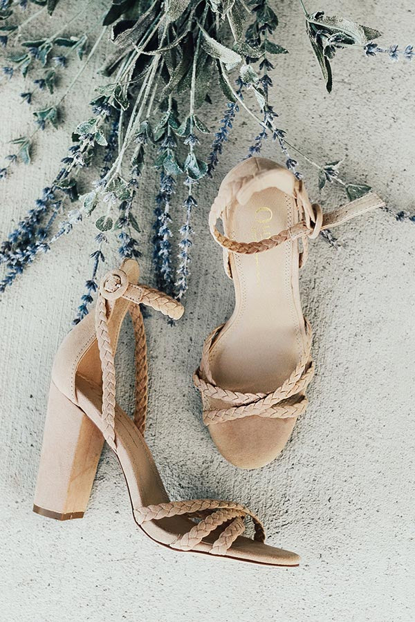 The Juliet Heel In Iced Latte