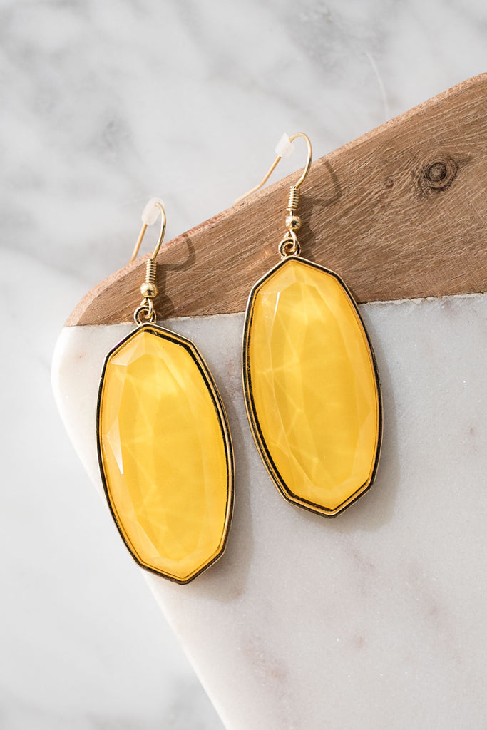 All Day Chic Earrings In Marigold