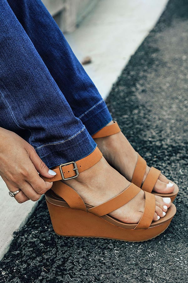 THe Emerson Wedge in Camel