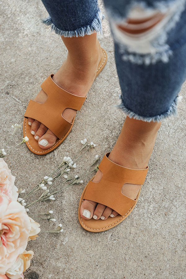 The Cece Sandal in Tan