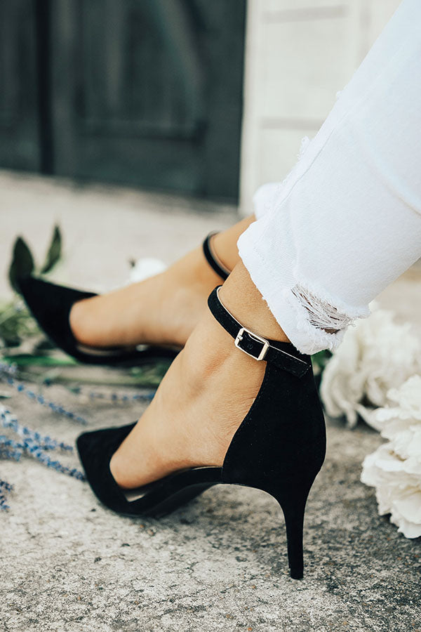 The Layla Heel in Black