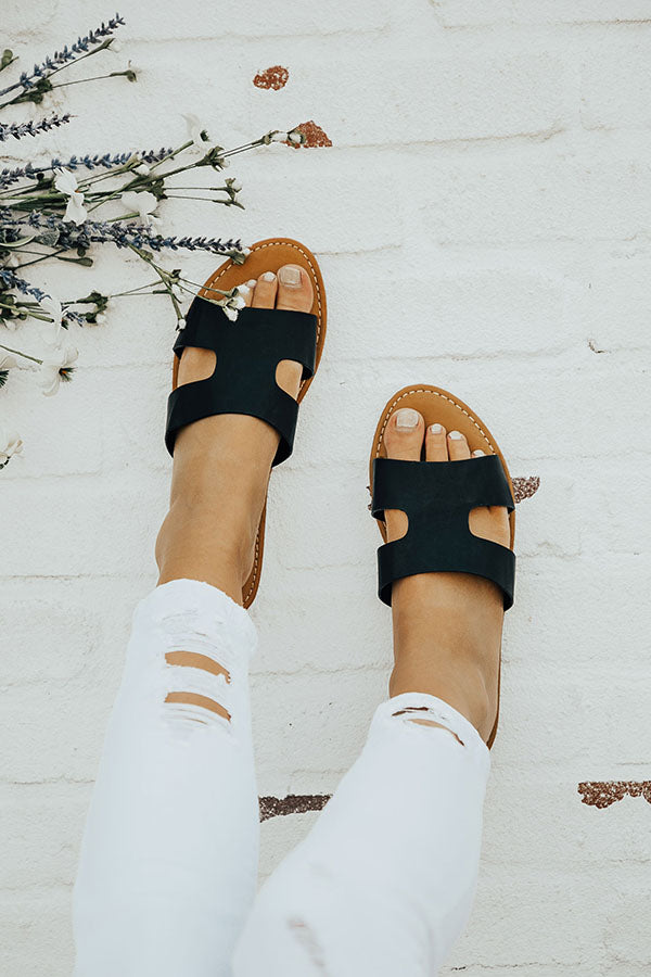 The Cece Sandal in Black