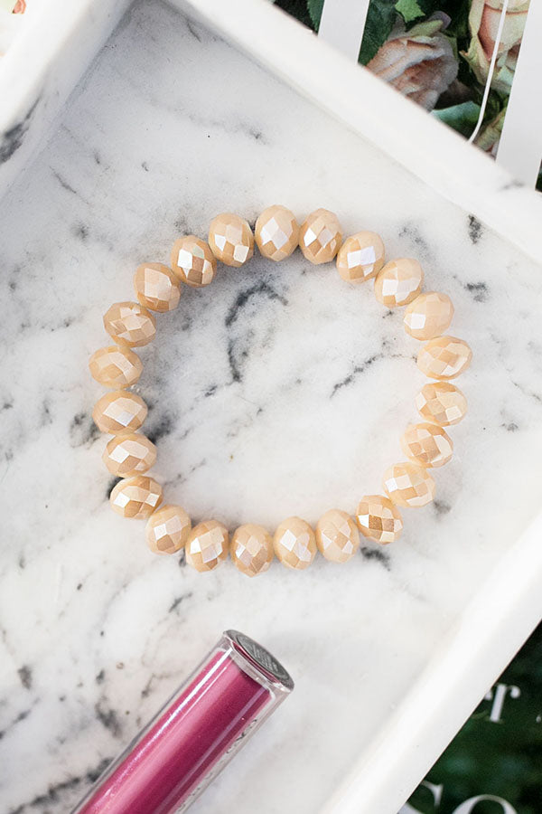 Margarita Time Bracelet In Iced Latte