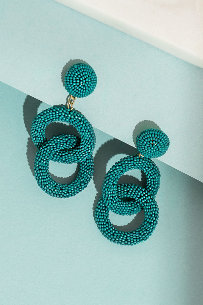 Hollywood Hottie Earrings In Jade