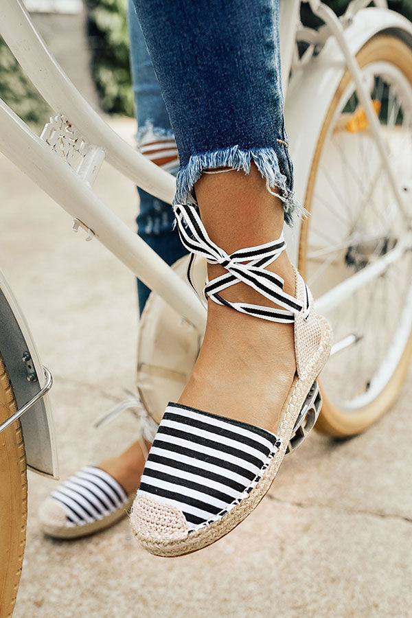 Coast To Coast Lace Up Flat