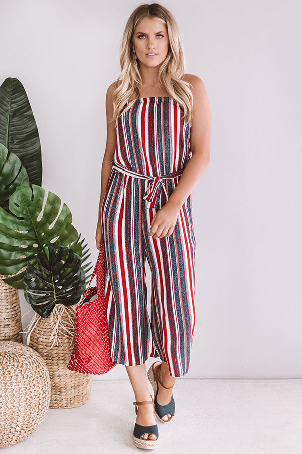 Soho Stripes Jumpsuit