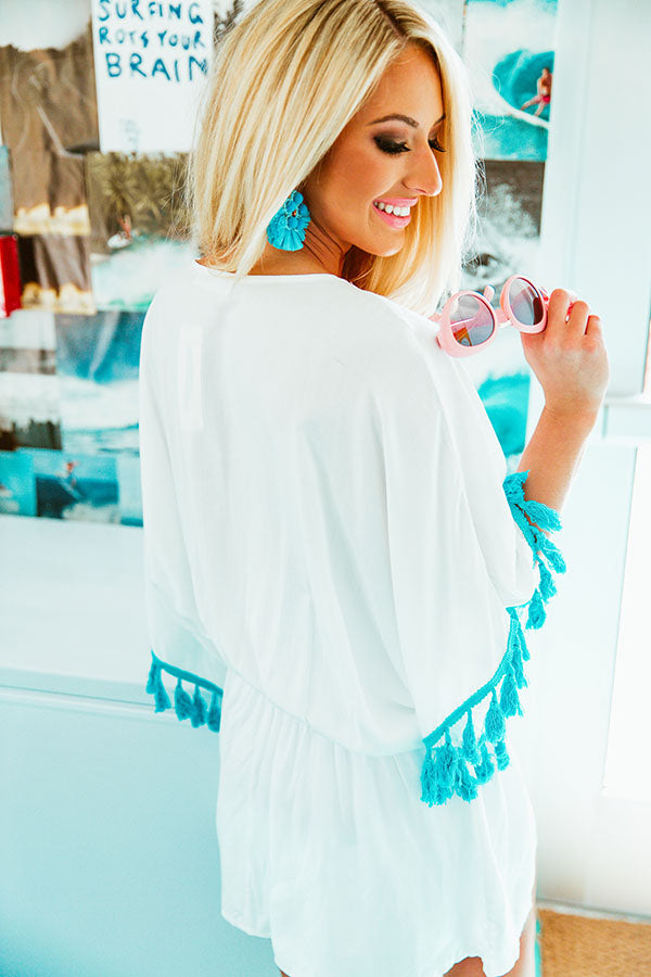 Breezy Babe Embroidered Tunic