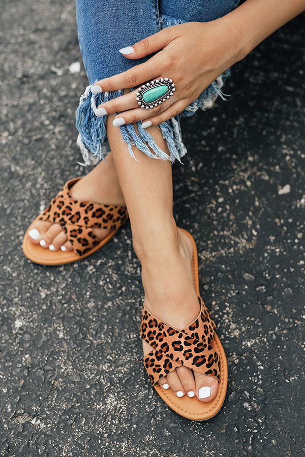 The Lexi Leopard Sandal