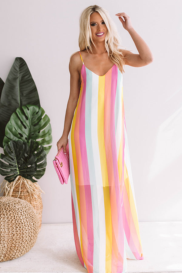 Sunshine Stripe Maxi