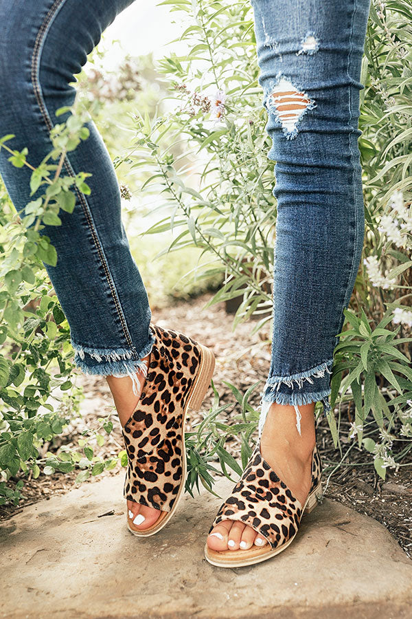 The Drew Flat in Leopard