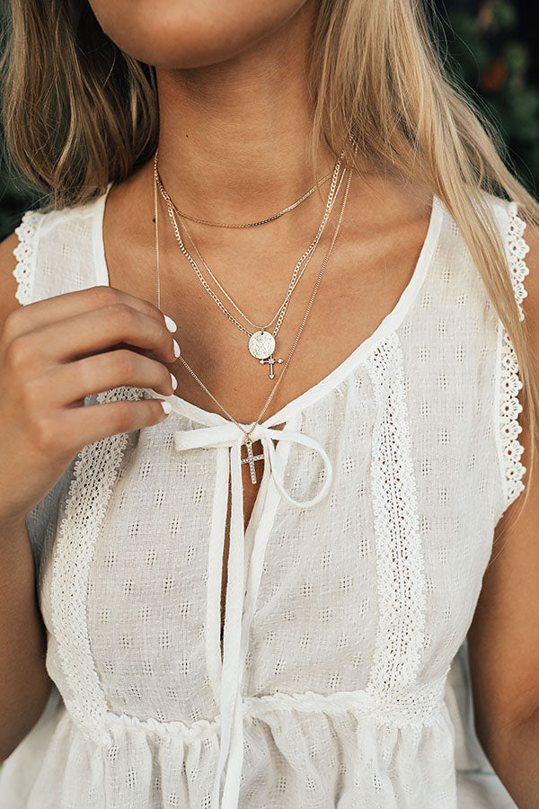 Full Of Grace Layered Necklace