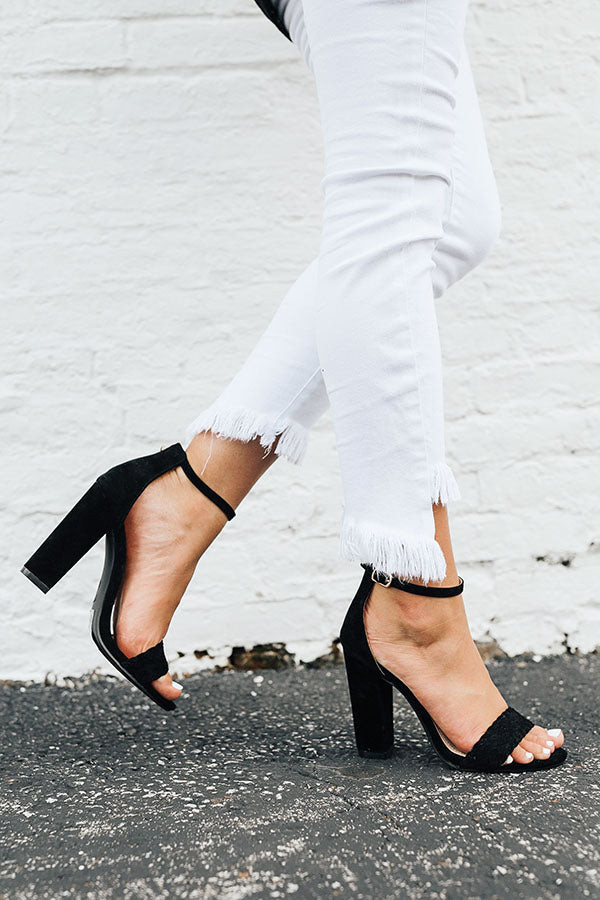The Camilla Heel in Black