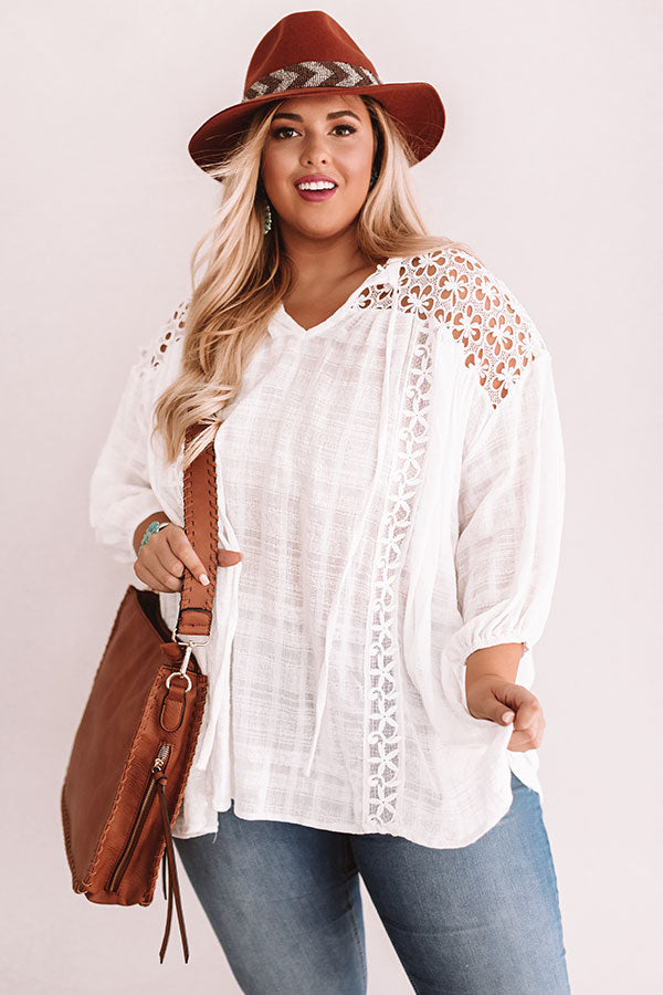 Parkside Picnic Crochet Top