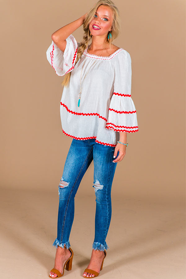 Margarita Memories Shift Top