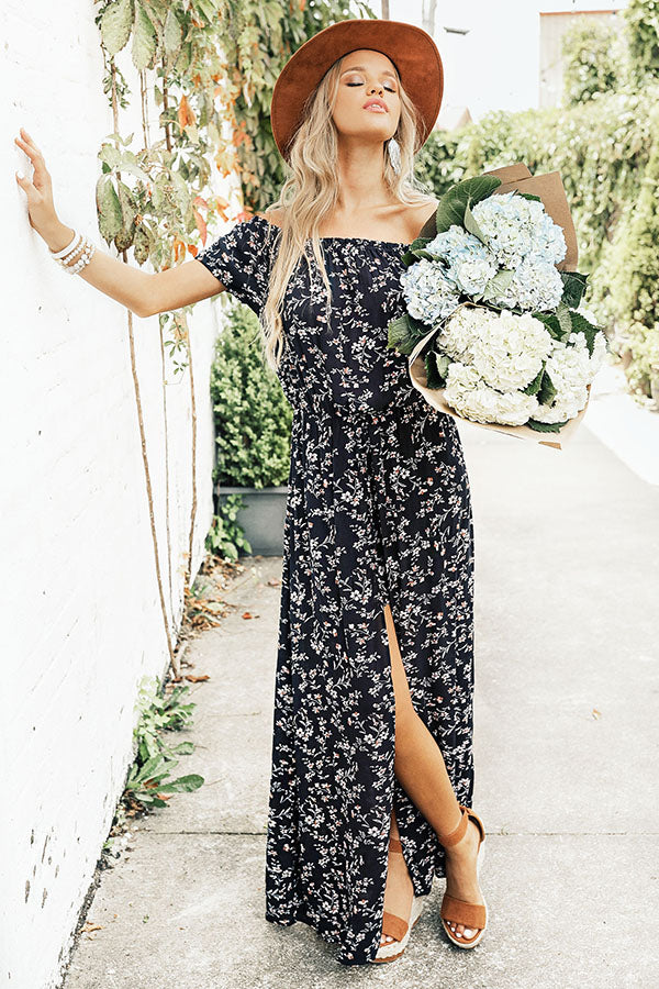 Floral Vibes Maxi