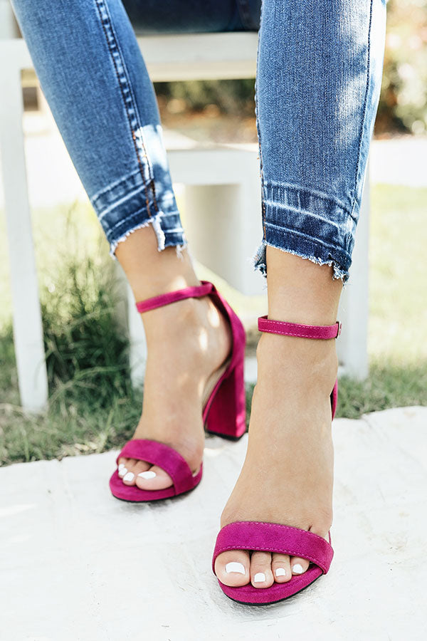 The Isabelle Heel in Berry