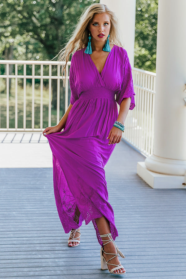Love In The Air Maxi Dress