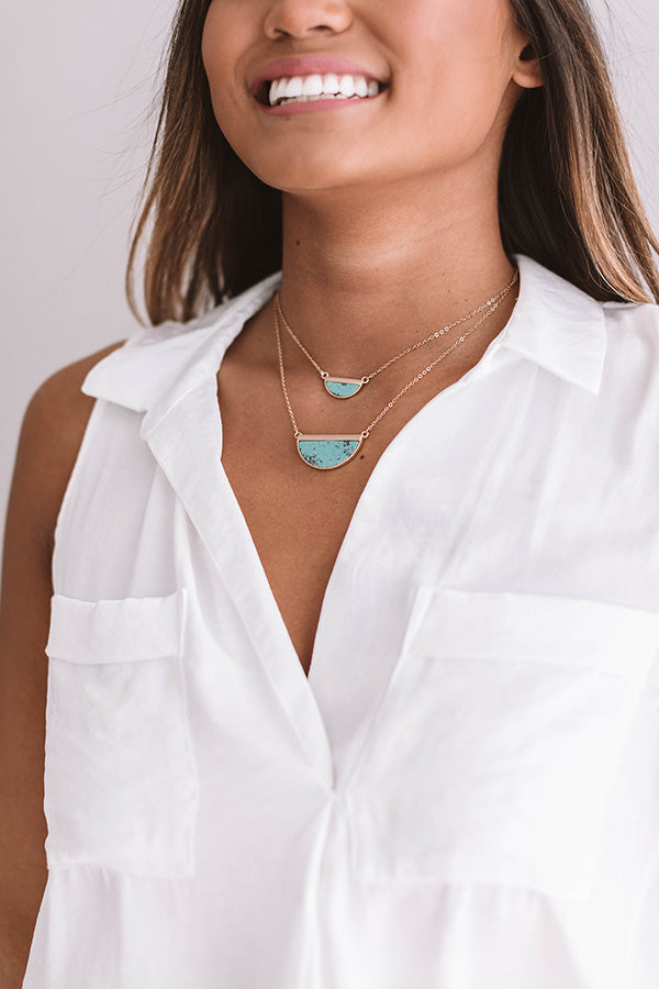 California Crush Necklace In Turquoise