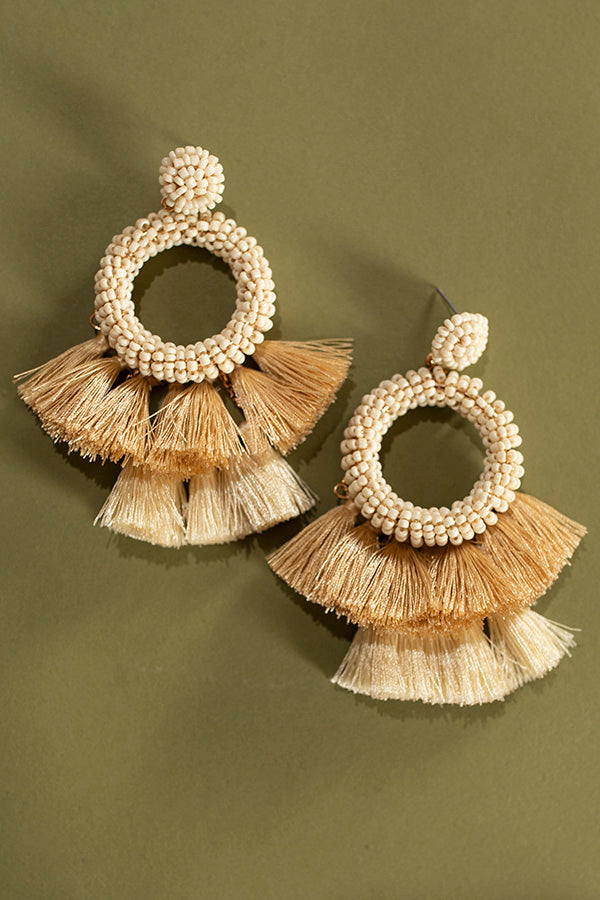 Infinitely Stunning Earrings In Ivory