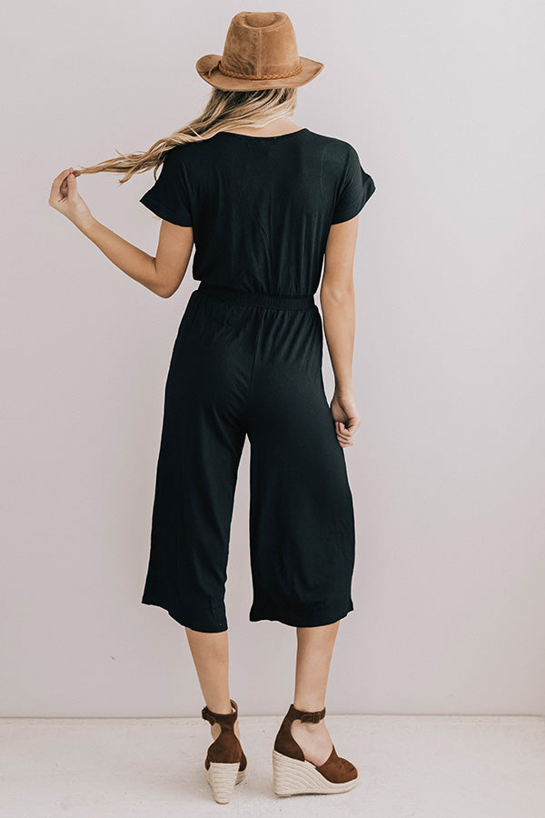 Elodie Jumpsuit in Black