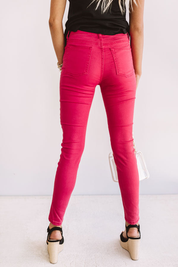 The Ellerie High Waist Skinny