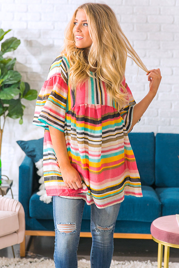 Tropic Chic Babydoll Tunic
