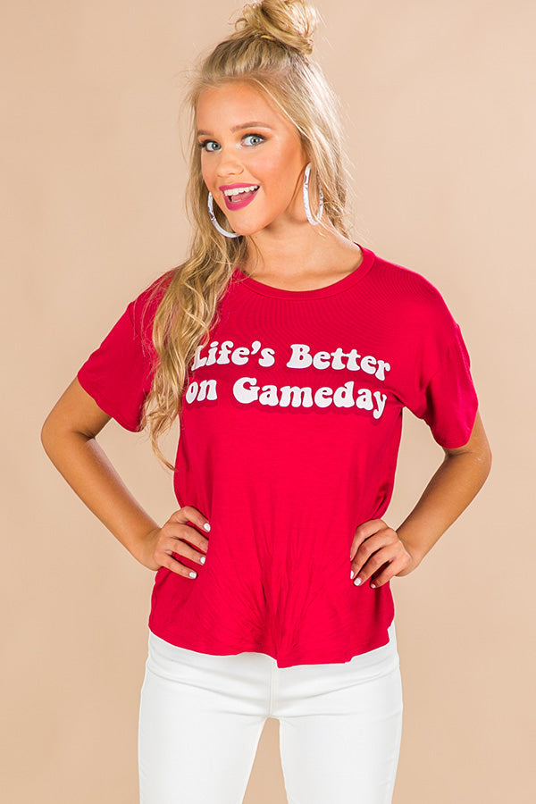 Life's Better On Gameday Tee