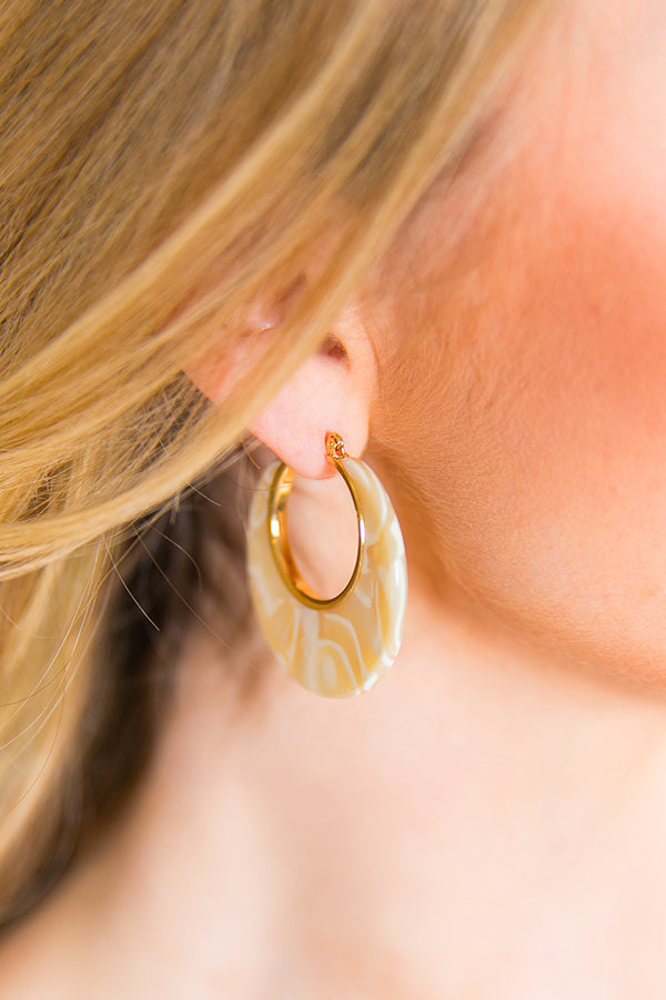 Forever Fabulous Earrings In Cream