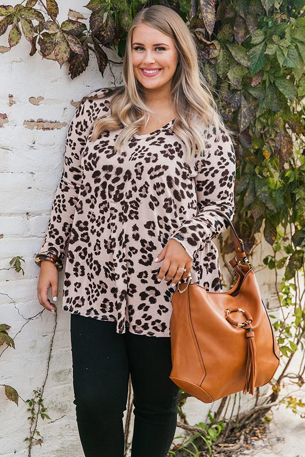Feeling Fabulous Leopard Shift Top