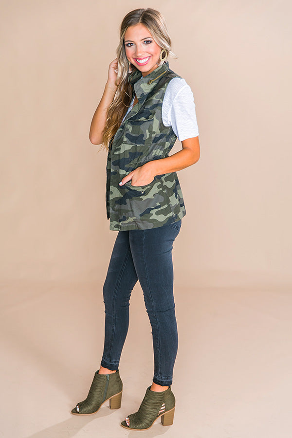 Colorado Chic Camo Vest