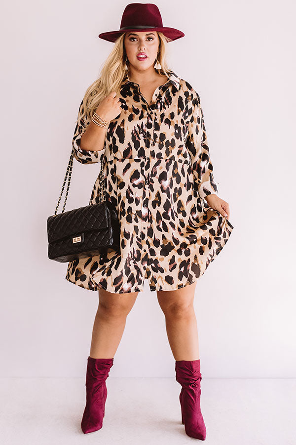 Park Avenue Perfection Leopard Dress